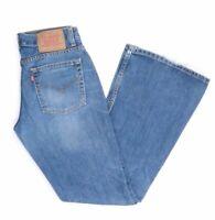 Levi's Levis Jeans 544 W29 L34 blau stonewashed 29/34 Bootcut -JA9401