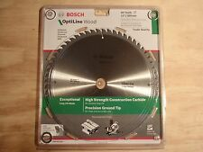 "BOSCH OPTILINE WOOD COMPOUND TABLE SAW BLADE 12"" 305mm/60T TRADE CONSTRUCTION"
