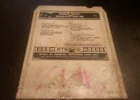 Dionne Warwick's Golden Hits Part 1 8 Track Tape - Tested & Working!!