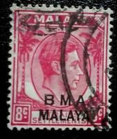 Malaya:1945 -1948 Straits Settlements Postage Stamps. Rare & Collectible Stamp.