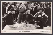Postcard Film Weekly vintage movie still Gracie Fields This Week of Grace #1 RP