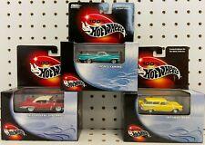 Hot Wheels Collectors - '57 Cadillac Eldorado - '59 El Camino - '57 Chevy Nomad