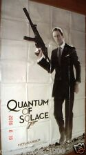 "QUANTUM OF SOLACE PIERCE BROSNAN  007 JAMES BOND BANNER DOUBLE  SIDED 60""X 95"""