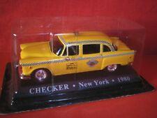 1/43 Checker TAXI New York USA 1980 WORLD TAXI