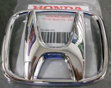 NEW OEM Honda Accord 03-07 CRV 05-09 4Dr Sedan Front Grille H Emblem Chrome