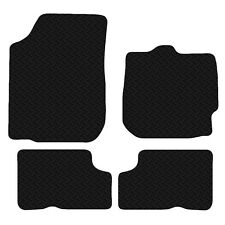 Dacia Duster 2010 - Onwards Black Floor Rubber Tailored Car Mat 3mm 4 Piece Set