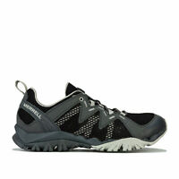 Womens Merrell Tetrex Rapid Crest Hiking Trainers In Black