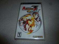 NEW FACTORY SEALED PSP STREET FIGHTER ALPHA 3 MAX PLAYSTATION PORTABLE NFS