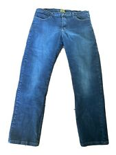 Draggin Jeans Men's 38 Kevlar Lined Padded Motorcycle Riding Jeans