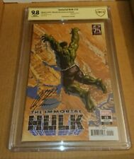 Immortal Hulk 25th Anniversary SDCC 2019 Exclusive Variant CBCS Signed Alex Ross