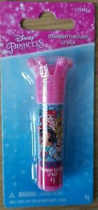 Disney Princess Townley Kids Strawberry flavoured Lip Balm with Crown Style Lid
