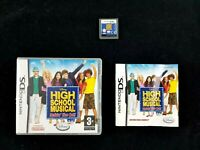 Nintendo Ds - Disney High School Musical - COMPLETE - Like New - Free Postage