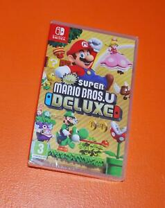 New Super Mario Bros U Deluxe Nintendo Switch Brand New