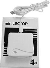 Bit4id miniLector EVO Indoor USB 2.0 Weiß Smart Cardreader-Windows, Mac OS X