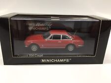 1:43 MINICHAMPS 400112121 PEUGEOT 504 COUPE' 1974 RED