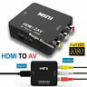 HDMI To RCA AV Adapter Converter Cable CVBS 3RCA 1080P Composite Video Audio