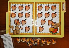 Acorn Addition to 12 Math File Folder Game Center First Second Grade