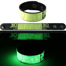 30 SECONDS TO MARS  NEW! Bracelet Wristband gg2 Glow in the Dark Free Shipping