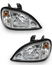 Freightliner Columbia Headlight 2004 - 2015 Passenger Driver Side Set with Bulbs