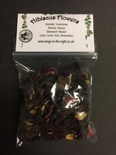 HIBISCUS Flower Dried Magical Herb - Love/Lust/Divination ~ Witchcraft/Wicca