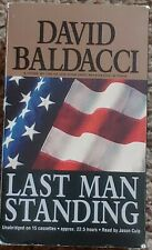 LAST MAN STANDING By David Baldacci - Audiobook on cassette