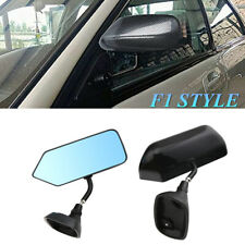 Racing Style Durable Blue Car SUV Side Mirrors Rear View Mirror Angle Enhancing