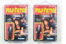Funko ReAction Pulp Fiction Jules Winnfield & Vincent Vega w/ Clamshell! NIP!