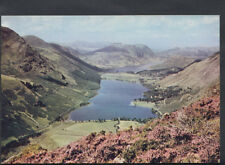 Cumbria Postcard - Buttermere Lake and Crummock Water    RR2011
