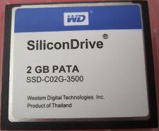 SiliconDrive 2GB PATA CF Industrial Temp WD CF Card SSD-C02G-3500