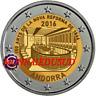 2 Euro Commémorative Andorre 2016 - 150 Ans Nouvelle Réforme 1866
