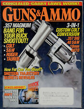 Magazine GUNS & AMMO Dec 1995 Walther PP PISTOL, BROWNING M1885 Low Wall RIFLE