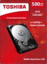"""Discos duros internos 8MB 2,5"""" para ordenadores y tablets para 500GB"""