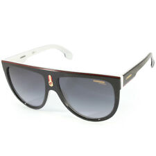 Carrera Flagtop 80S 9O Polished Black on White/Grey Gradient Women's Sunglasses