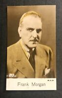 1935 Bridgewater Film Stars 4th Series #20 Frank Morgan