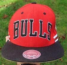 CHICAGO BULLS Mitchell & Ness SNAPBACK HAT Cap - Diamond Shorts, Retro NEW