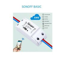Domotique interrupteur WiFi sonoff commandée par le smartphone APP et NEST
