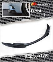 Carbon Fibre V Style Front Bumper Lip Spoiler for BMW E90/ E92/ E93 M3