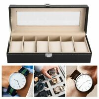 12/6/2 Grid Slots Jewelry Watches Display Storage Box Case Aluminium Square  oM