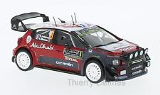 Citroen C3 WRC  Rally Monte Carlo lefebvre 2017  version nuit 1/43   ixo