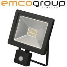 PIR 20W Slim LED Outside PIR Light IP65 Movement Sensor Floodlight Lamp Security