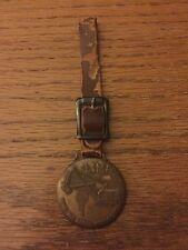 Vintage Watch Fob, Lima, Earth Mover, Shovels, Draglines, Cranes, Clamshells Cat