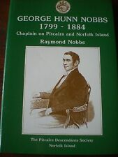 Norfolk/Pitcairn Is., signed GEORGE HUNN HOBBS (CHAPLAIN) 1799-1884 Aust History