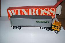 1985 Greenwood Motor Lines Winross Diecast Trailer Truck