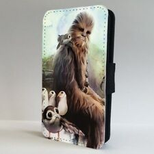 Chewbacca Porgs FLIP PHONE CASE COVER for IPHONE SAMSUNG
