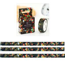 Blue Blume DIY Washi Masking Tapes Klebeband Klebebänder Papier Dekor Stickers