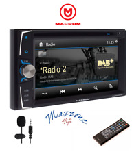 Macrom M-DVD6000DAB Media Estación GPS CD/DVD / USB/ DAB/Bluetooth de Coche Y