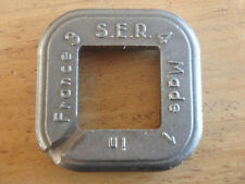 S.E.R. FRENCH Spoke Nipple Key Bike Cycle Wheel Rim Wrench Spanner Tool. Vintage