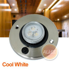 12V Led Eyeball Cabinet Light Cool white RV Camper Trailer Caravan Lamp Switch
