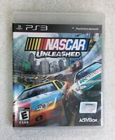NASCAR Unleashed (Sony PlayStation 3, 2011) PS3 Complete w/ Manual