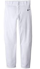 Nike Boys White Pro Vapor Baseball Pants SizeL 11010